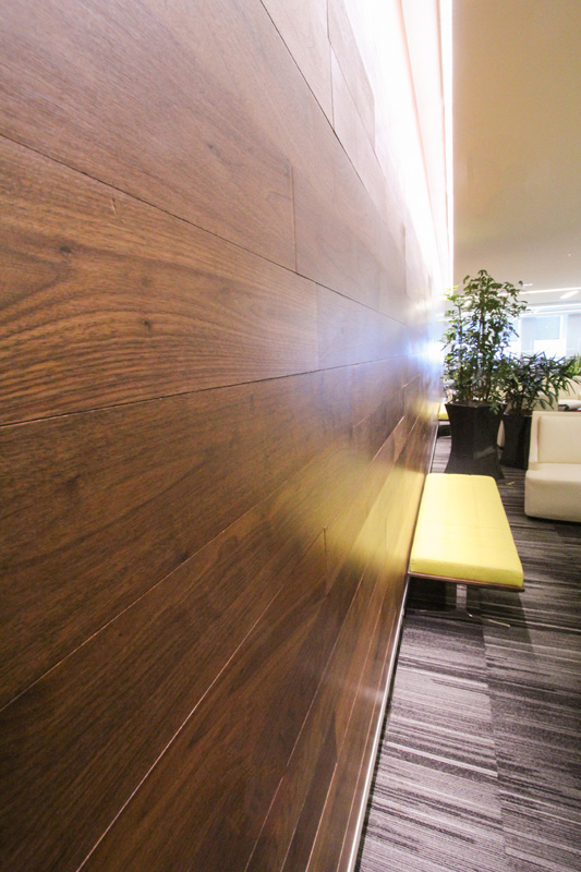 Feldman Shepherd Black Walnut Wall Cladding Resawn
