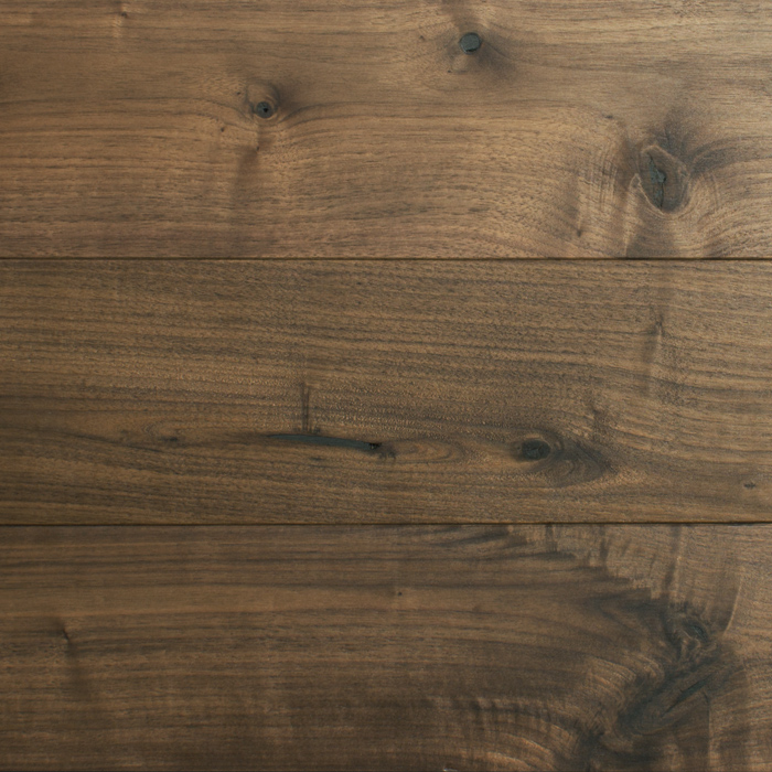 NEWPORT black walnut character grade for flooring and wall cladding