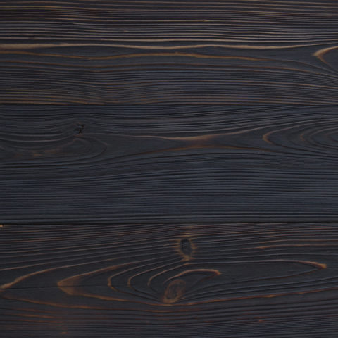 KURO shou sugi ban exterior and interior wood siding