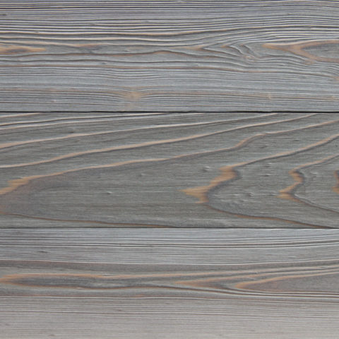 IRUKA shou sugi ban charred cypress for exterior siding or interior wall cladding