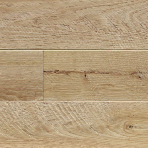 MERCER white oak, textured flooring