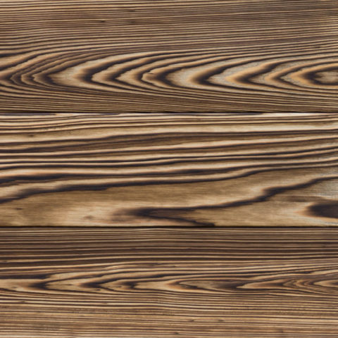 YOKO shou sugi ban cypress for interior applications