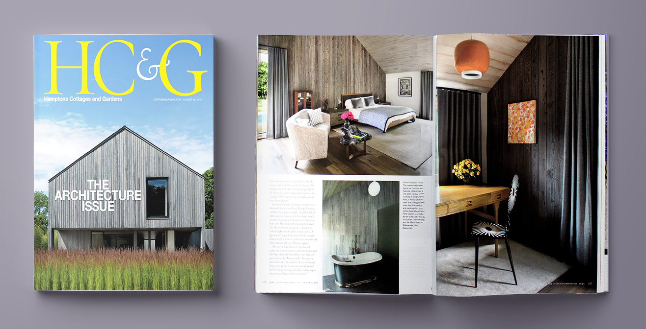 reSAWN products in Hamptons Cottages & Gardens Magazine