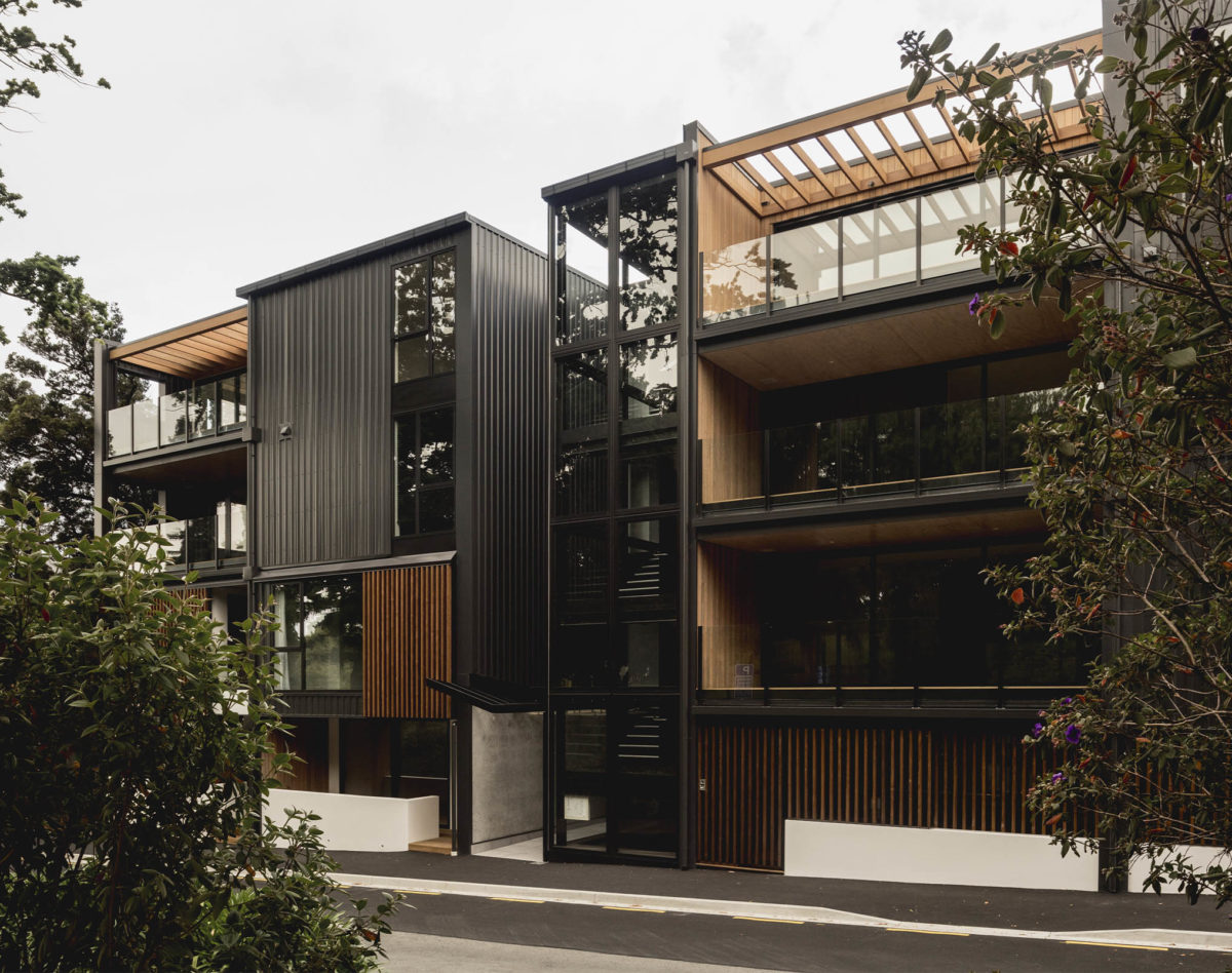 Betts Luxuary Apartments - Vulcan Screening in Teak - Abodo Wood - feature image